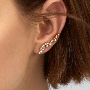 Baublebar Farrah Crystal Ear Crawlers